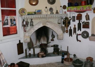 Η κουζίνα του μουσείου